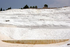 Pamukkale: Calcium wall Stock Images