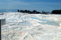 Pamukkale Cotton castle royalty free stock photos