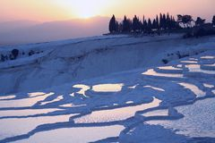 Pamukkale, denizli, turkey Stock Image