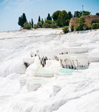 Pamukkale in der Türkei Stockfotos