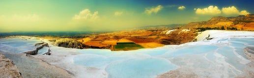 Pamukkale, die Türkei Lizenzfreie Stockfotos