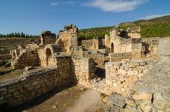 Pamukkale, die Türkei Stockbild