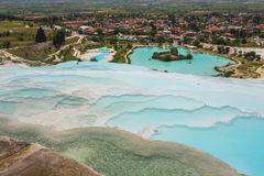 Pamukkale exotic pearl of Turkey Stock Photo