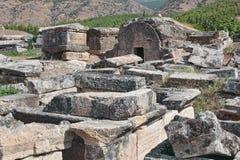 Pamukkale - Hierapolis Stock Images