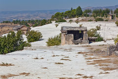Pamukkale - Hierapolis Royalty Free Stock Photography