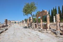 Pamukkale - Hierapolis Stock Image