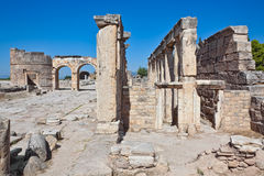 Pamukkale - Hierapolis Stock Photography