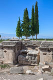 Pamukkale - Hierapolis Stock Photo