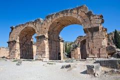 Pamukkale - Hierapolis Royalty Free Stock Photo
