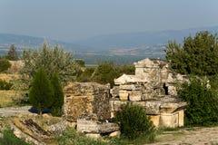 Pamukkale Hierapolis 库存图片