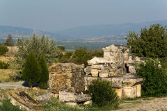 Pamukkale Hierapolis Stockbilder
