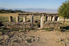 Pamukkale Hierapolis 免版税库存照片