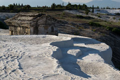 Pamukkale Hierapolis 免版税库存图片