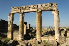 Pamukkale Hierapolis Stockfoto