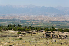 Pamukkale Hierapolis Stockfotos