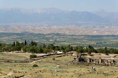 Pamukkale Hierapolis 库存照片