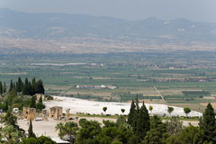 Pamukkale Hierapolis Stock Photo