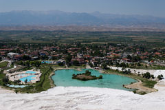 Pamukkale Hierapolis Royalty Free Stock Images