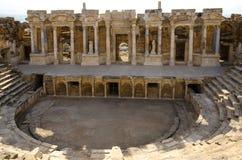 Pamukkale, Hierapolis di Frigia fotografie stock libere da diritti