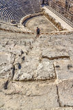 Pamukkale - Hierapolis theatre Stock Photo