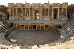 Pamukkale, Hierapolis von Phrygia Lizenzfreie Stockfotos