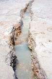 Pamukkale: hot calcium spring Royalty Free Stock Photo