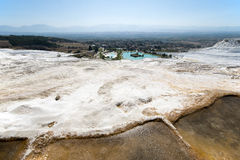 Pamukkale Hot Springs, Travel to Turkey Stock Photos