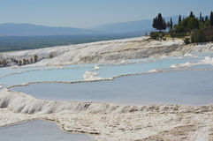 Pamukkale landscape Royalty Free Stock Photo