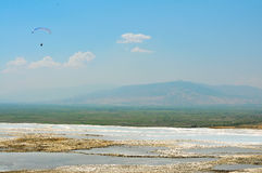 Pamukkale landscape Stock Photos