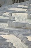 Pamukkale limestone pools Stock Images
