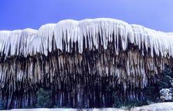 Pamukkale Limestone Terraces in Turkey Stock Photography