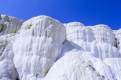 Pamukkale Limestone Terraces in Turkey Royalty Free Stock Photo