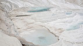Pamukkale - merveille de nature photographie stock