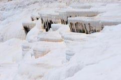 Pamukkale, natural site in Denizli Province in southwestern Turkey. Stock Images
