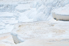Pamukkale, natural site in Denizli Province in southwestern Turkey. Royalty Free Stock Photography