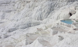 Pamukkale naturalni jeziora w Hierapolis Turcja Obrazy Royalty Free