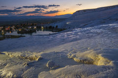 Pamukkale night view Stock Image