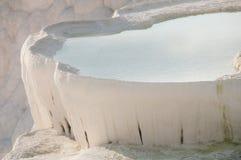 Pamukkale pöl Fotografering för Bildbyråer