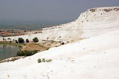 Pamukkale: panorama Royalty Free Stock Photography