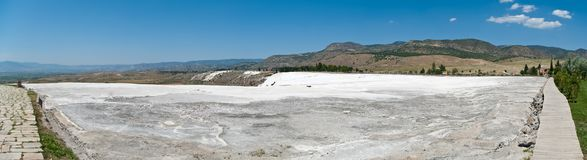 Pamukkale Panorama Stock Photos