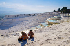 Pamukkale Stock Photo
