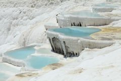 Pamukkale pools Stock Image