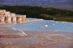 Pamukkale Pools in Turkey Royalty Free Stock Photos