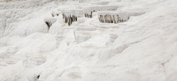 Pamukkale pools in Turkey Royalty Free Stock Images