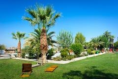 Pamukkale resort, Turkey Stock Photos
