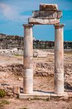 Pamukkale ruins Royalty Free Stock Photography