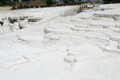 Pamukkale terraces Stock Image