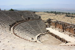 Pamukkale theater Stock Photography