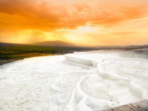 Pamukkale Travertens Photographie stock