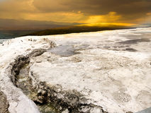 Pamukkale Travertens Royalty Free Stock Images